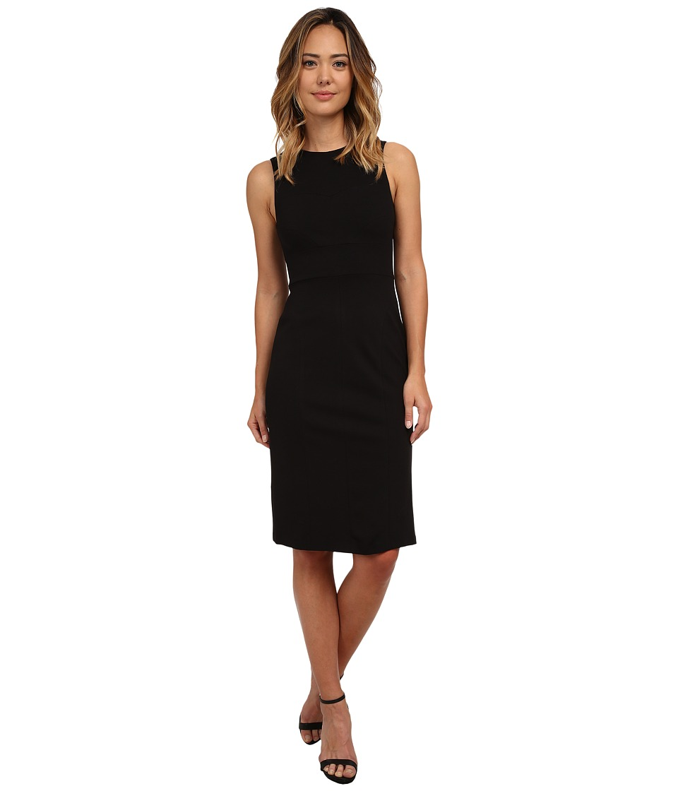 KUT from the Kloth - Milly Ponte Dress (Black) Women