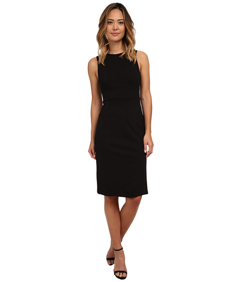 KUT from the Kloth - Milly Ponte Dress (Black) Women's Dress