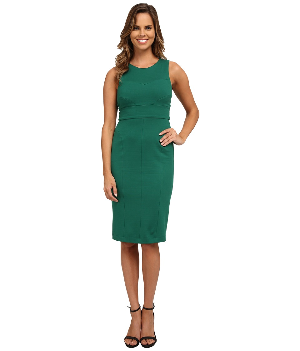 KUT from the Kloth - Milly Ponte Dress (Green) Women's Dress
