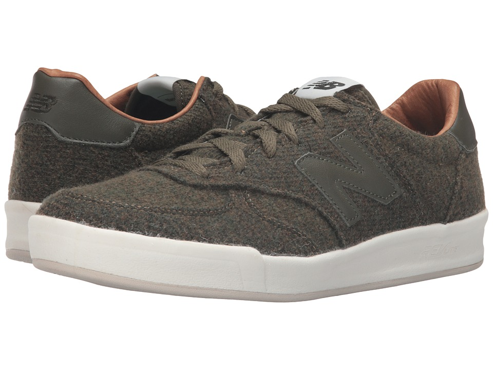 New Balance - CRT300 (Olive Woolen Textile) Men's Classic Shoes