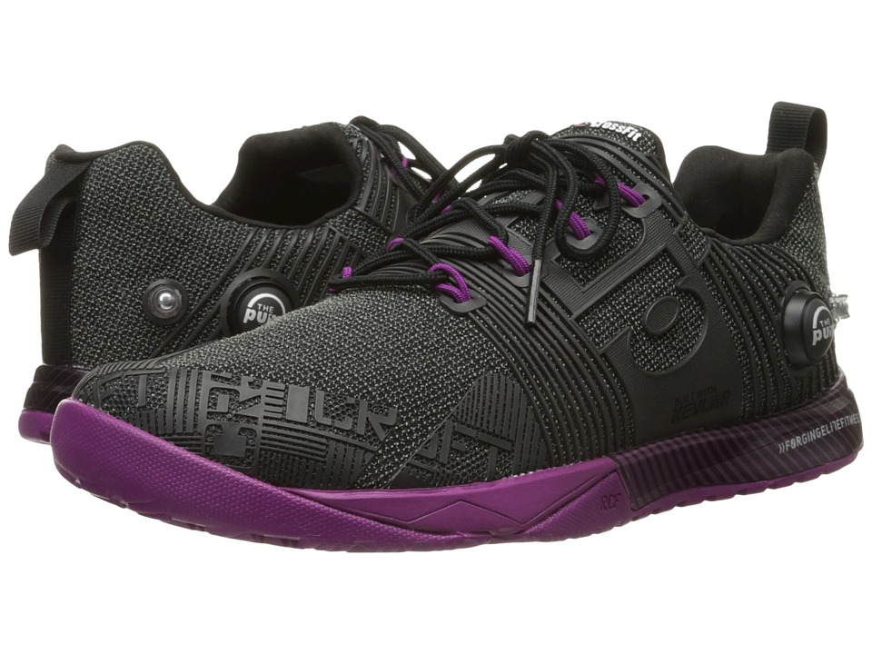 Reebok - CrossFit Nano Pump Fusion (Black/Fierce Fuchsia) Women's Cross Training Shoes