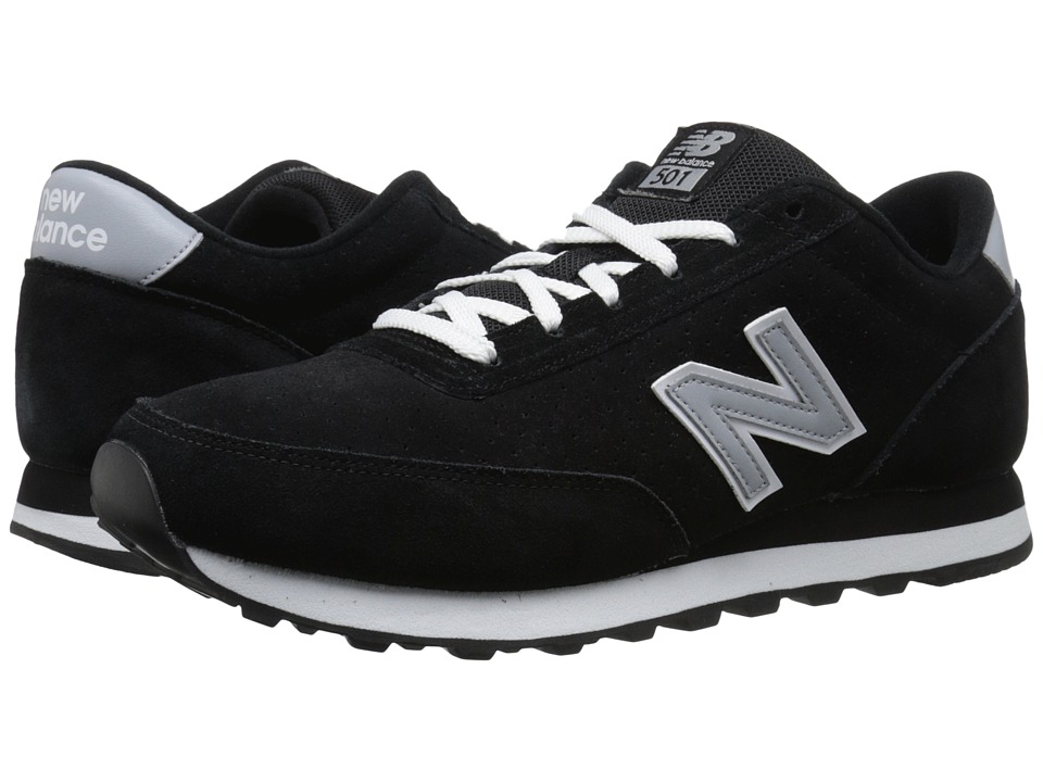 New Balance - ML501 (Black Suede) Men's Classic Shoes