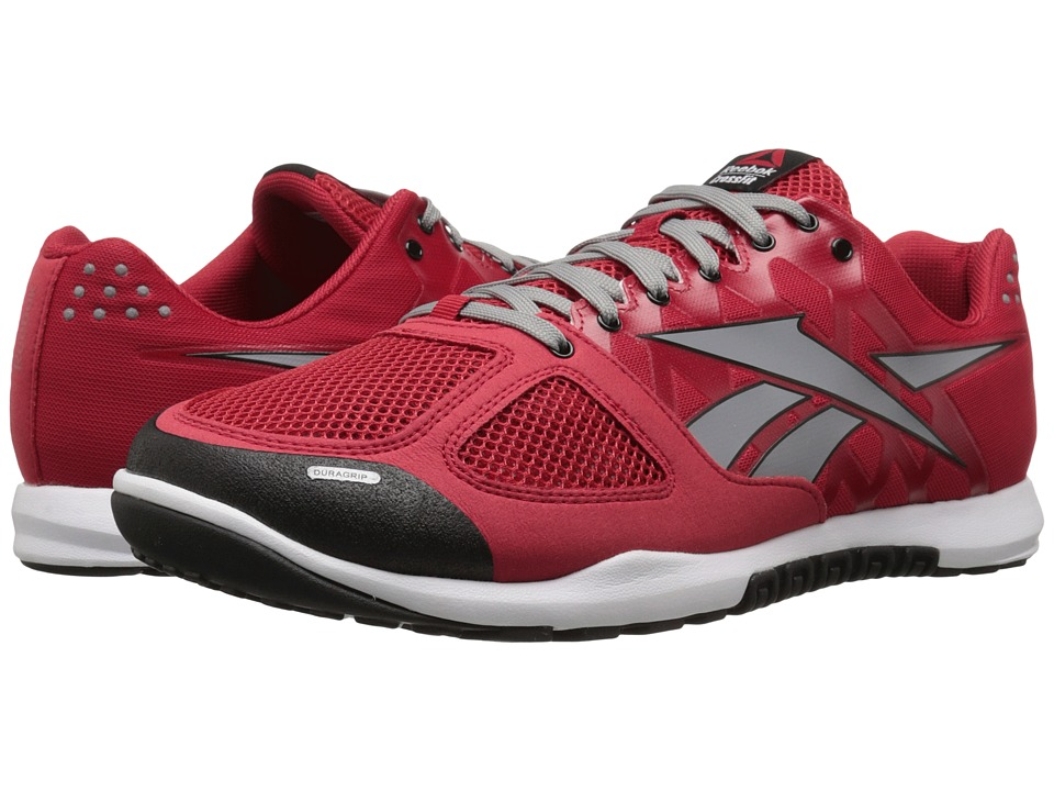 Reebok - CrossFit Nano 2.0 (Excellent Red/Flat Grey/White/Black) Men's Cross Training Shoes