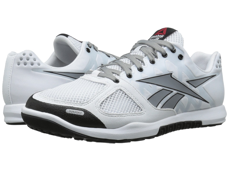 Reebok - CrossFit Nano 2.0 (White/Flat Grey/Black) Men's Cross Training Shoes
