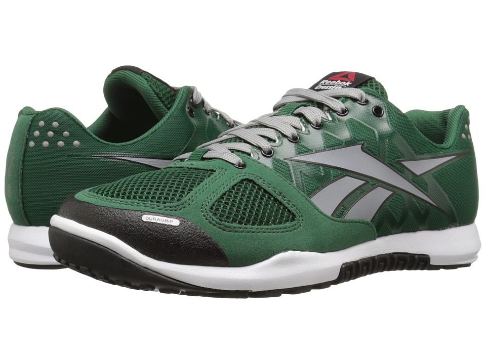 Reebok - CrossFit Nano 2.0 (Dark Green/Flat Grey/White/Black) Men's Cross Training Shoes