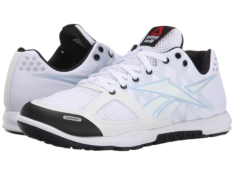 Reebok - CrossFit Nano 2.0 (White/Black/Zee Blue) Women's Cross Training Shoes
