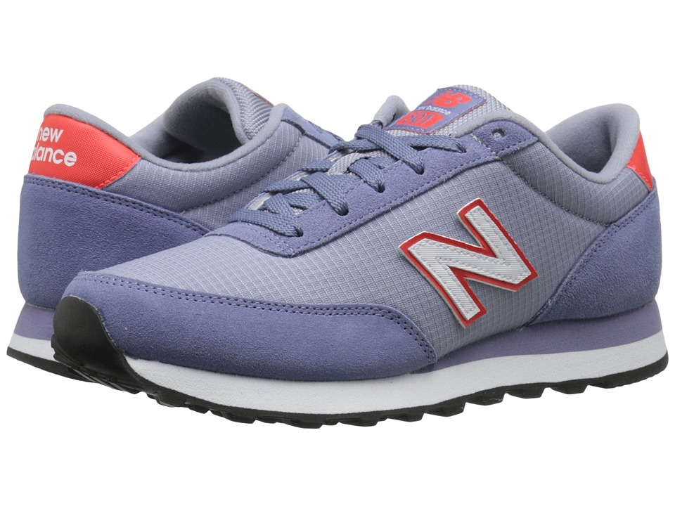 New Balance Classics - WL501 (Lavender/Red Suede/Ripstop Mesh) Women's Classic Shoes