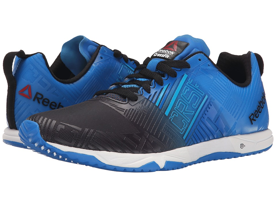 Reebok - CrossFit Sprint 2.0 (Black/Cycle Blue/Far Out Blue/White) Men