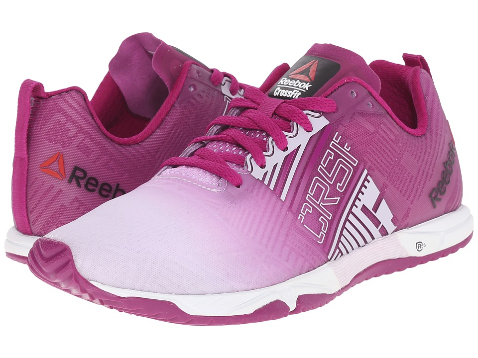 Reebok - CrossFit Sprint 2.0 (Lilac Ice/Fierce Fuchsia/White) Women's Cross Training Shoes