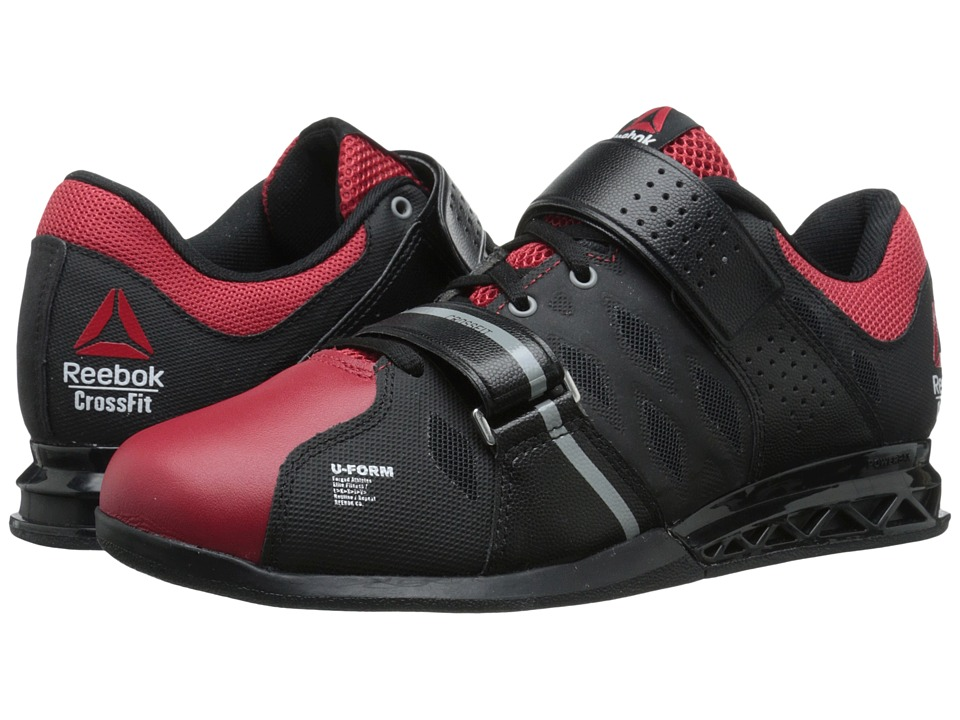 Reebok - CrossFit Lifter Plus 2.0 (Black/Excellent Red/Flat Grey) Men's Cross Training Shoes