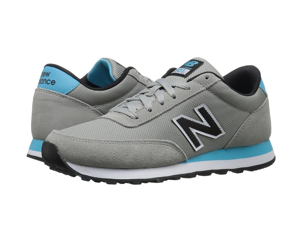 New Balance Classics - WL501 (Grey/Blue Suede/Mesh) Women's Classic Shoes