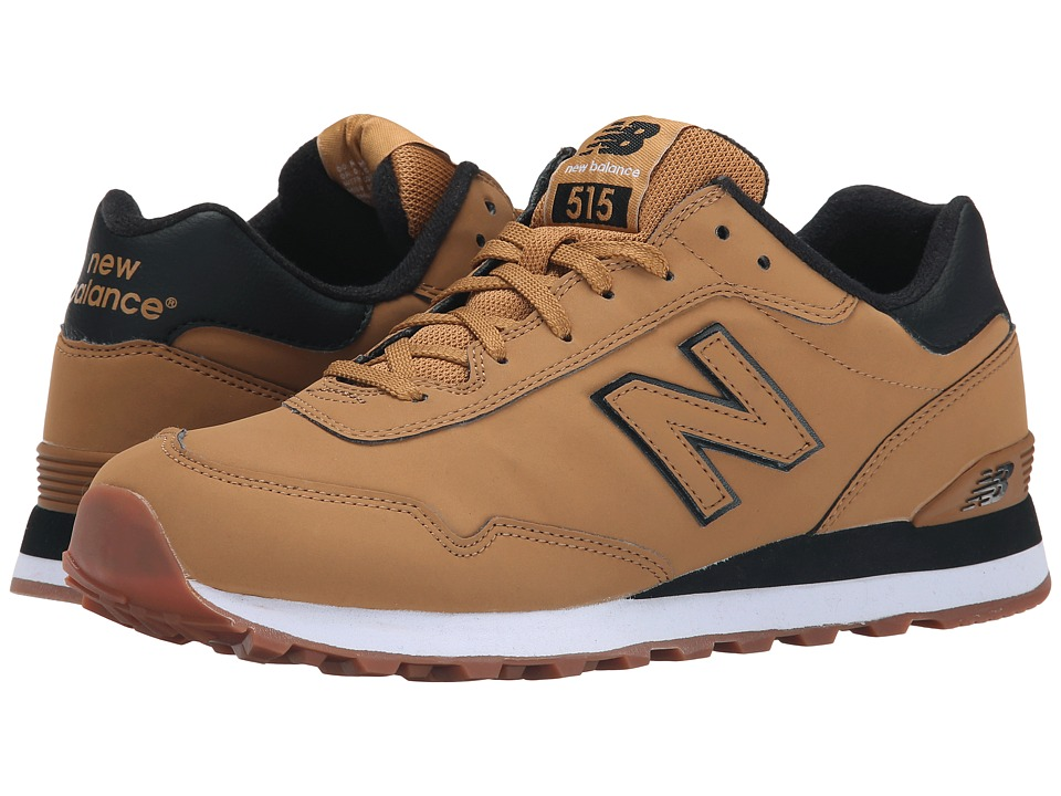 New Balance Classics - ML515 (Wheat/Black Synthetic) Men's Classic Shoes