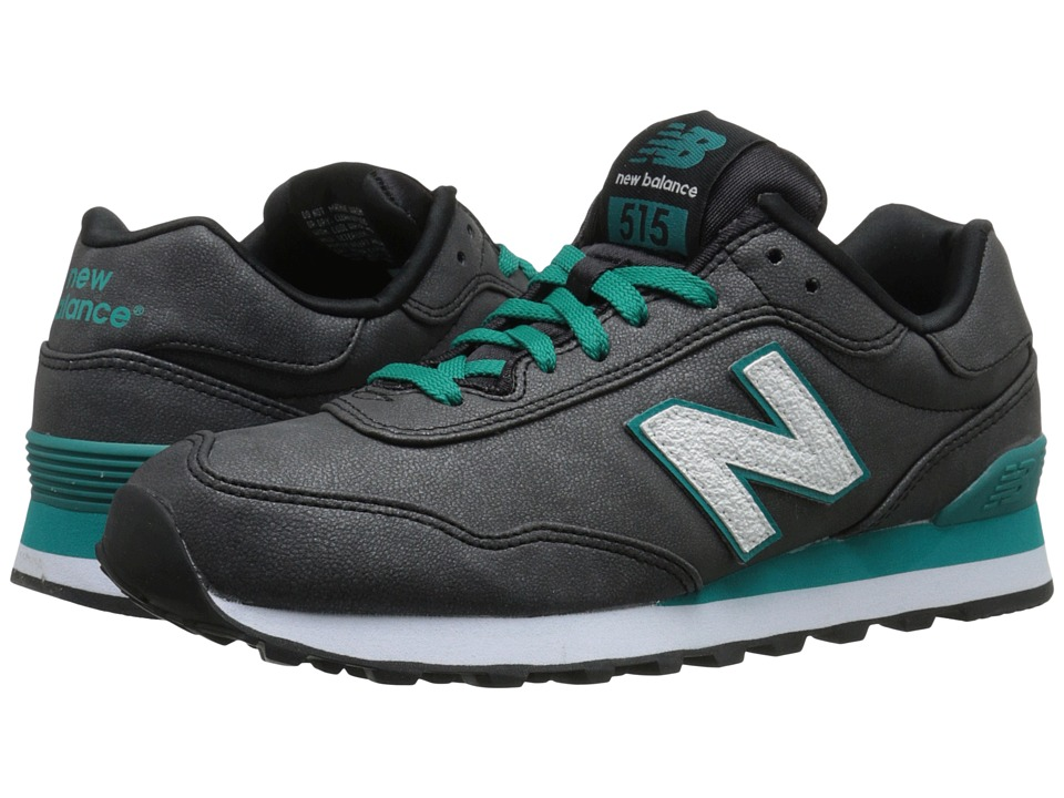 New Balance Classics - WL515 (Blue/Green Synthetic) Women's Classic Shoes