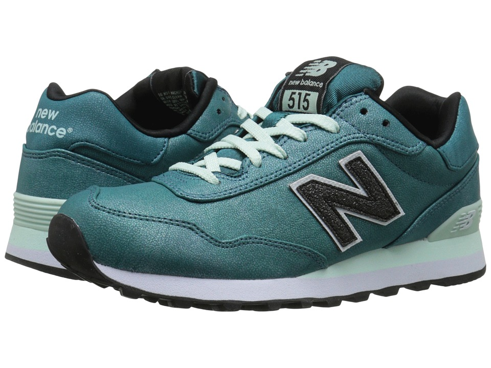 New Balance Classics WL515 (Tropical Green Synthetic) Women