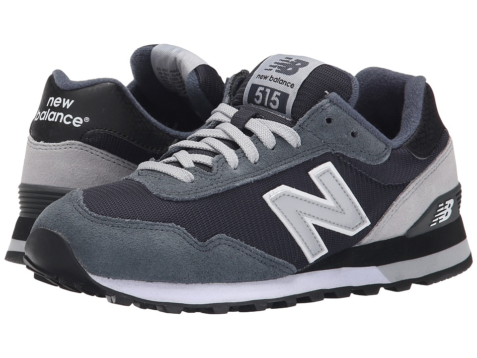 New Balance Classics - ML515 (Dark Grey Suede/Mesh) Men's Classic Shoes