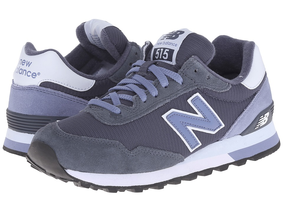 New Balance Classics - WL515 (Grey/Lavender Suede/Mesh) Women's Classic Shoes
