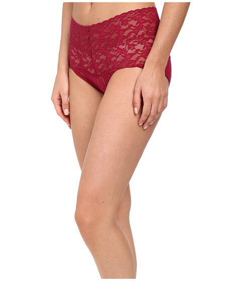 Hanky Panky - Signature Lace Retro V-Kini (Cranberry) Women's Underwear