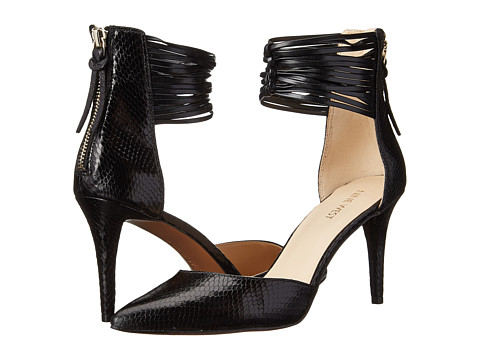 Nine West - Palucci (Black/Black Synthetic) High Heels