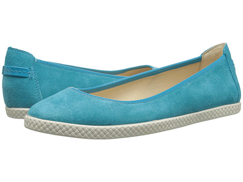 Nine West - Royalli (Turquoise/Turquoise Suede) Women's Flat Shoes