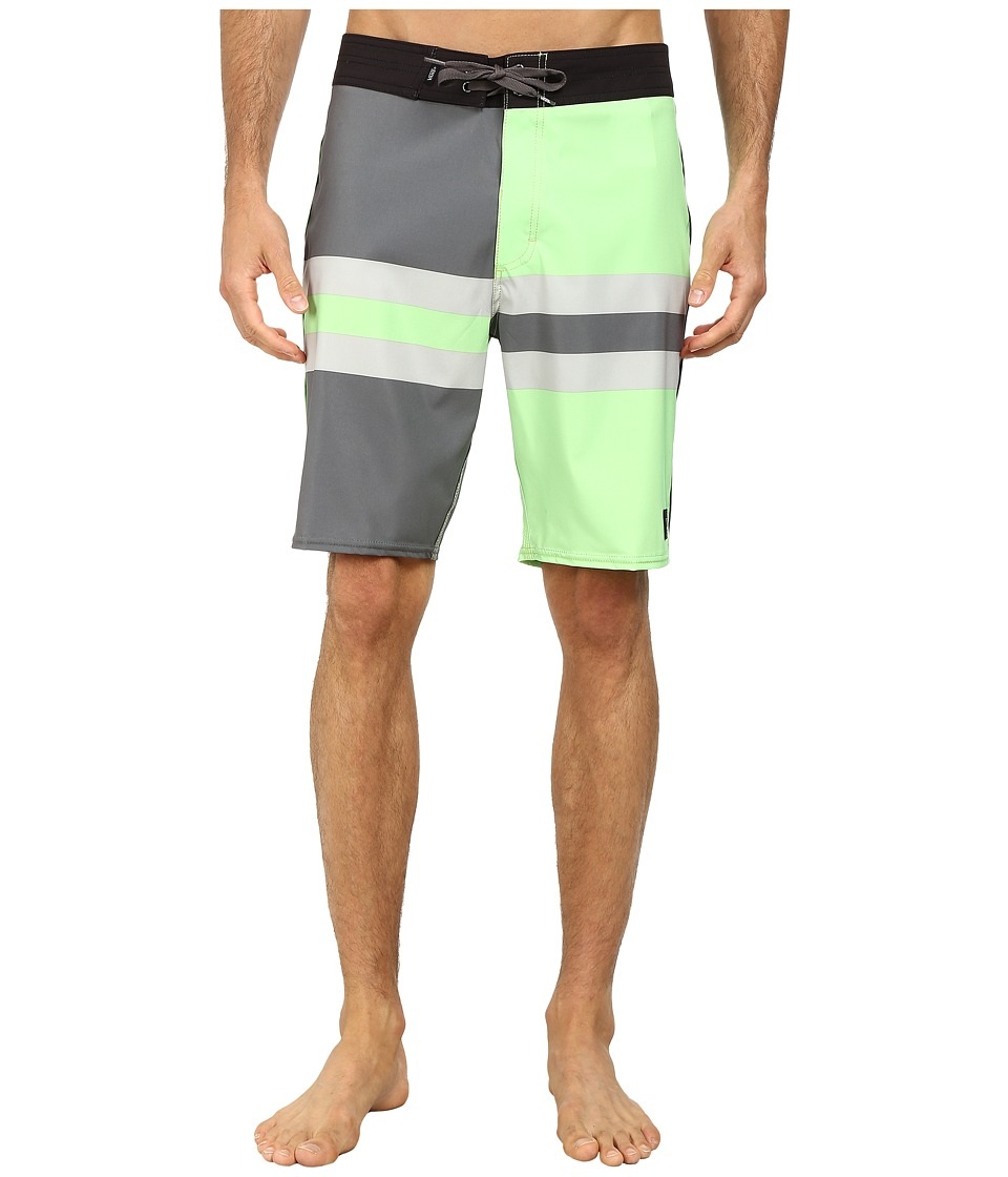 Vans - Dungeness Boardshorts (Lime Aid) Men's Swimwear