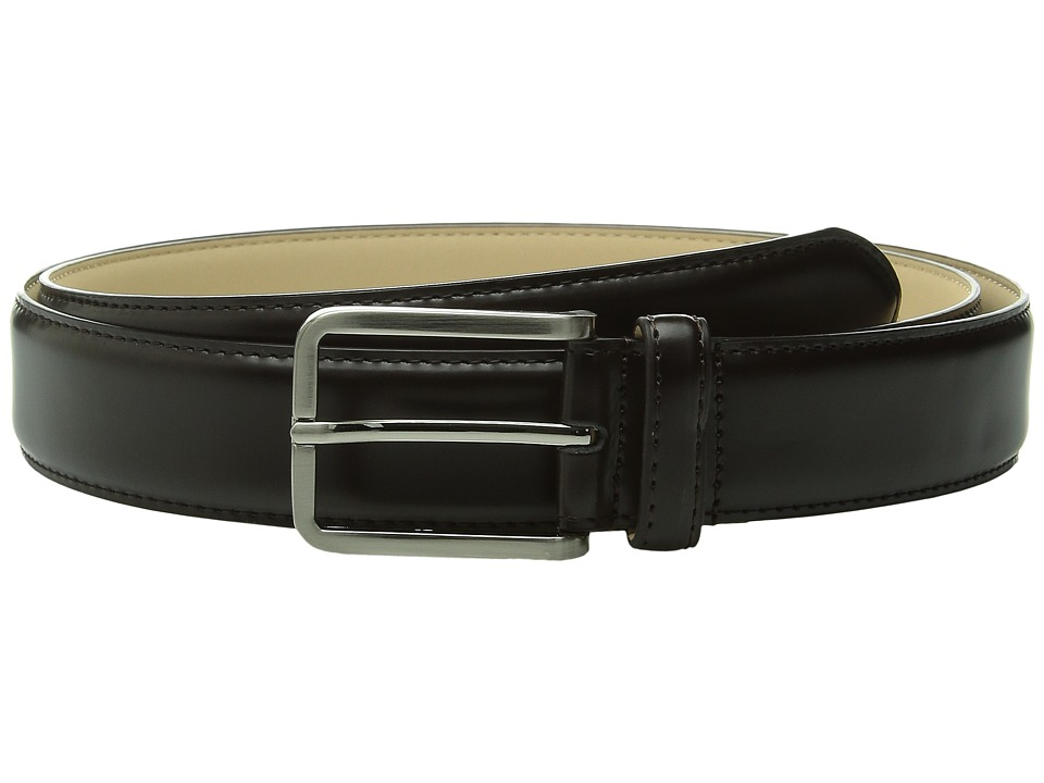 Stacy Adams - 32mm Classic Dress - Leather Top/Microfiber Lining X (Brown) Men's Belts