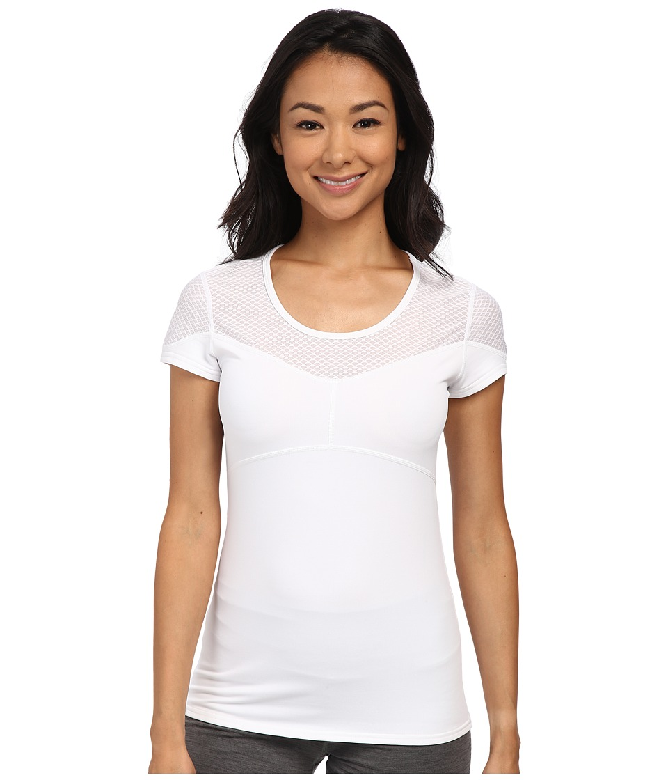 Tonic - Match Tee (White) Women's T Shirt