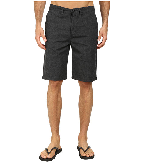 Vans - Dewitt Walkshort (Black Heather) Men's Shorts