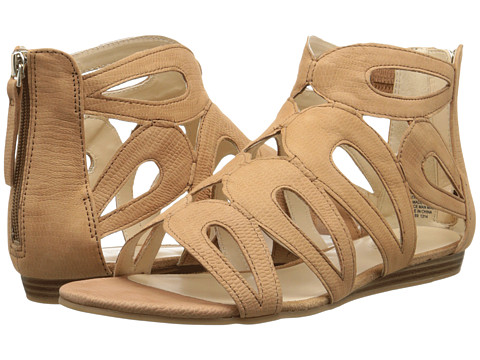 Nine West - Turntable (Dark Natural Nubuck) Women's Sandals