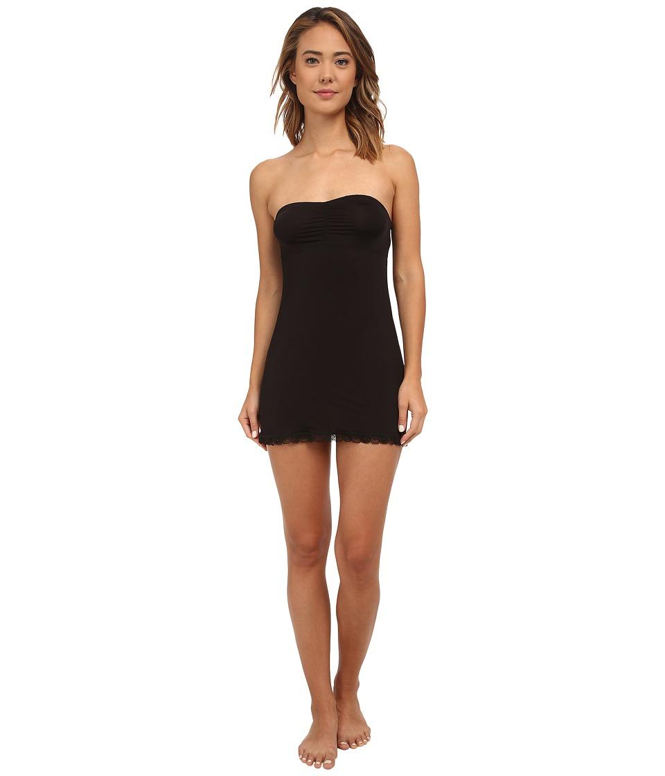 Hanky Panky - Silky Skin Convertible Slip (Black) Women's Underwear