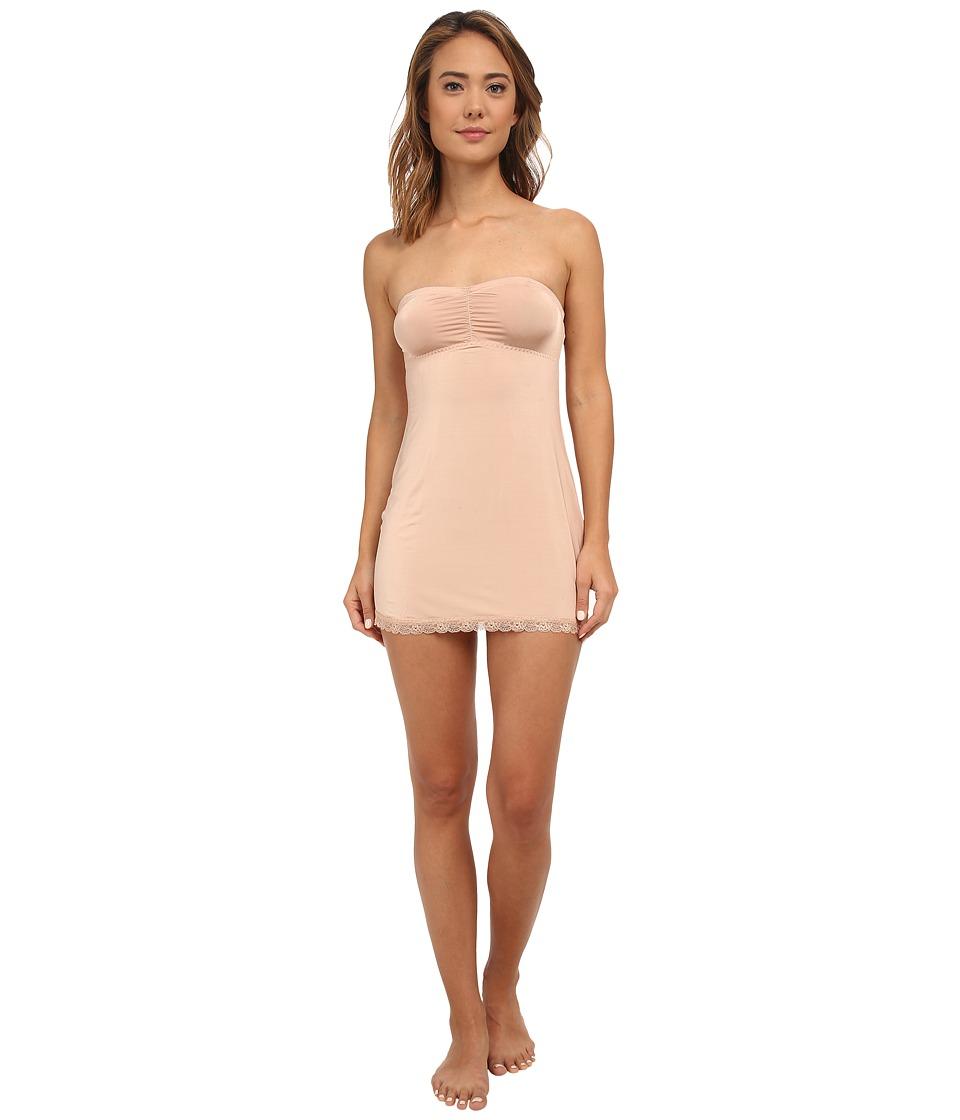 Hanky Panky - Silky Skin Convertible Slip (Mocha) Women's Underwear