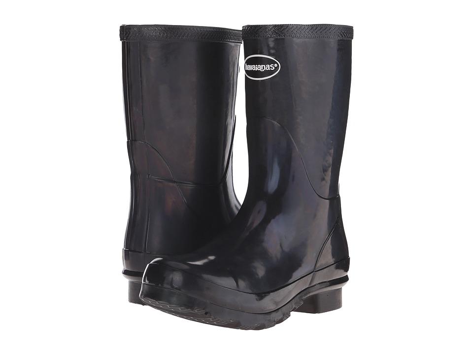Havaianas - Helios Mid Rain Boot (Dark Grey) Women's Rain Boots