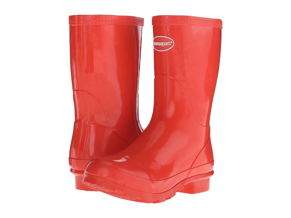 Havaianas - Helios Mid Rain Boot (Guava Red) Women