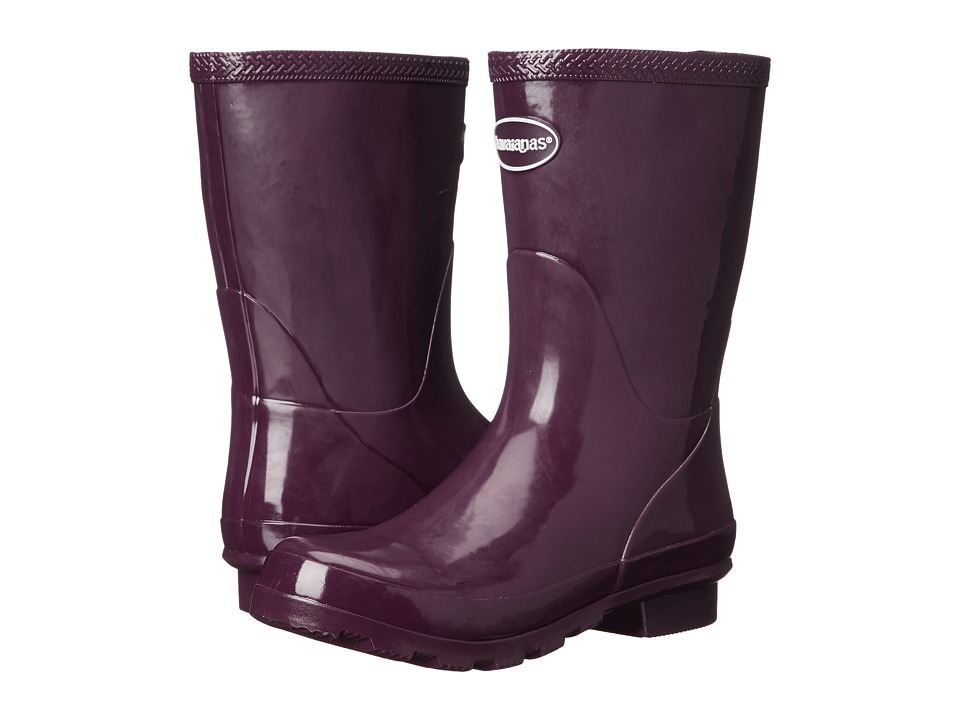 Havaianas Helios Mid Rain Boot (Aubergine) Women