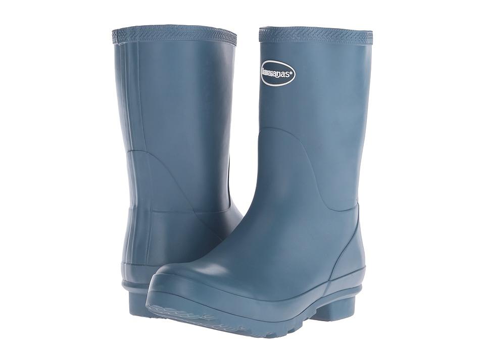 Havaianas - Helios Mid Rain Boot (Blue Misty) Women's Rain Boots