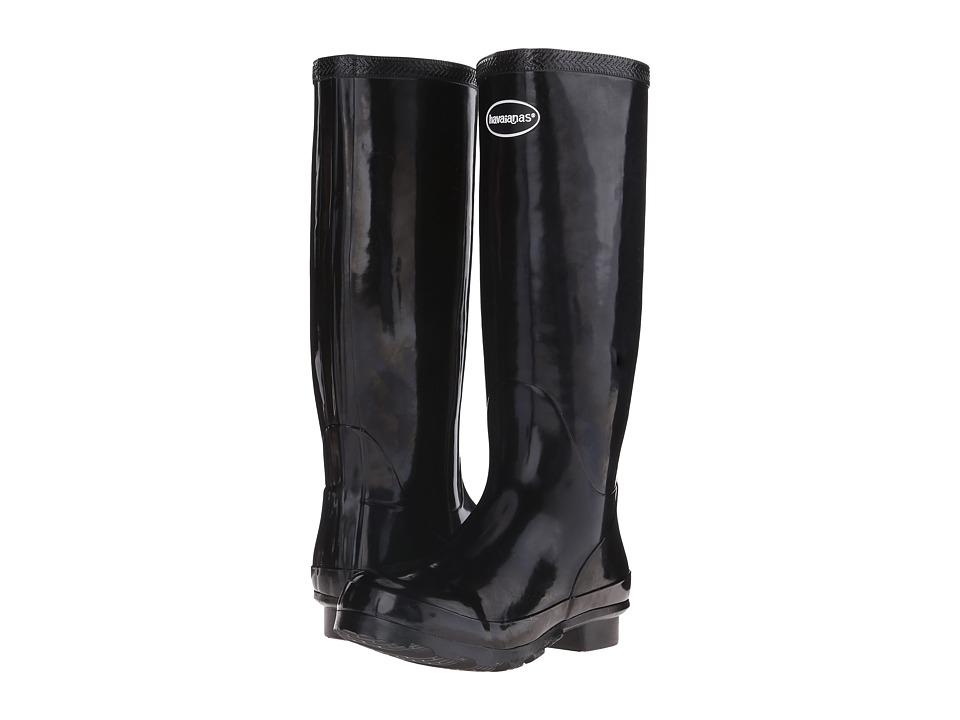 Havaianas - Helios Rain Boot (Black) Women's Rain Boots