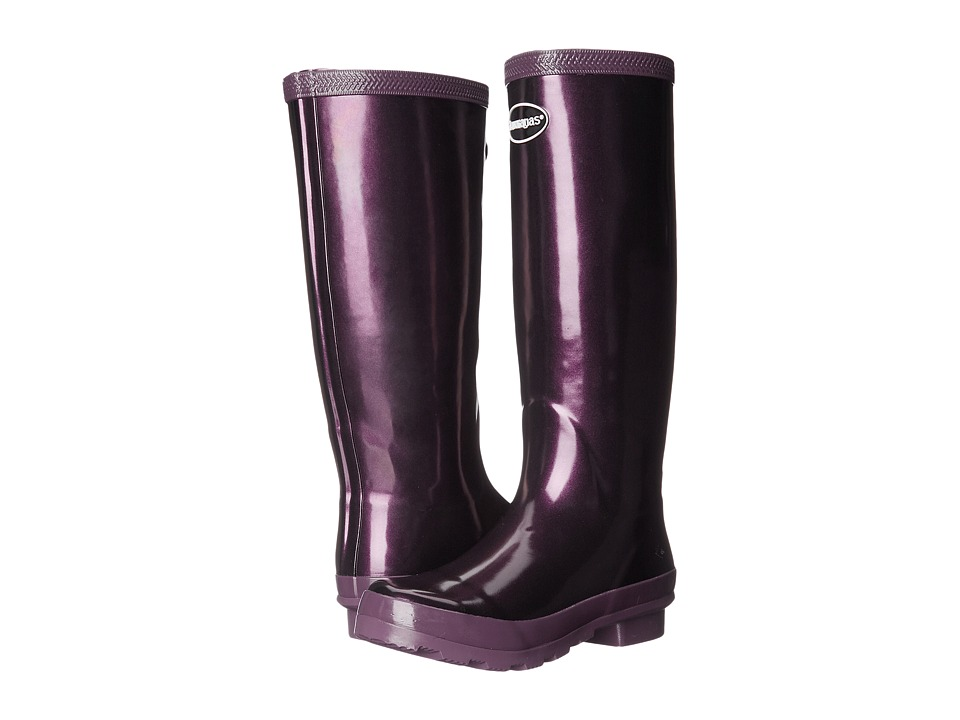 Havaianas Helios Rain Boot (Aubergine) Women