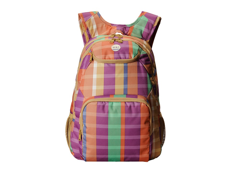Roxy - Shadow Swell Backpack (6055 Summery Madras Redwood Ml) Backpack Bags
