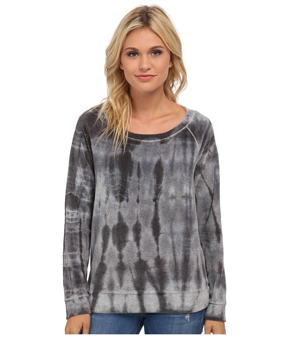 Splendid - Raglan Pullover (Tie-Dye) Women's Clothing