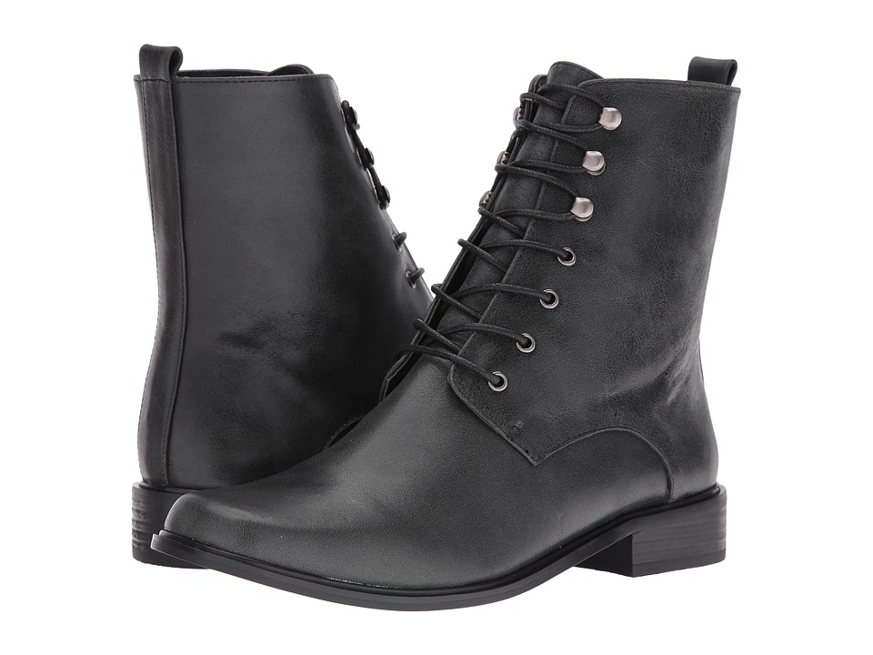 VOLATILE - Glasglow (Black) Women's Lace-up Boots