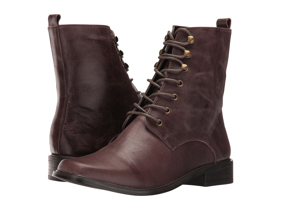 VOLATILE - Glasglow (Brown) Women's Lace-up Boots
