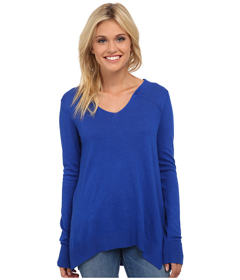 Splendid - Cashmere Blend Pullover (Marina) Women's Sweater