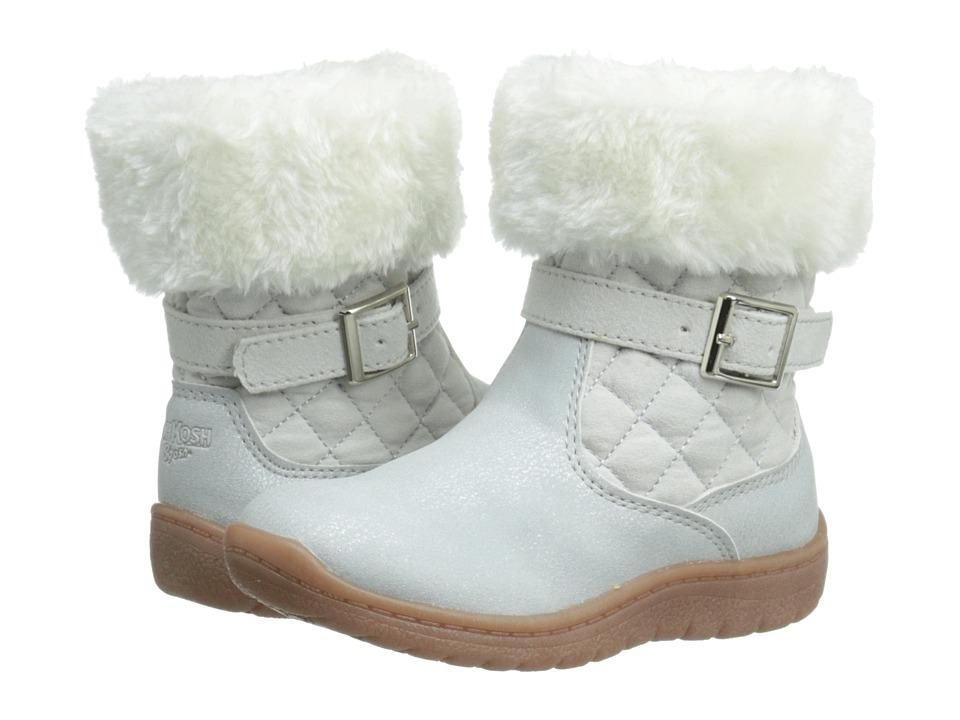OshKosh - Honey-G (Toddler/Little Kid) (White) Girls Shoes