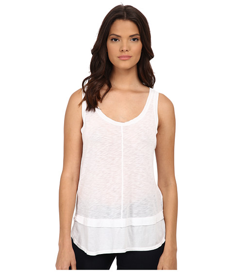 Splendid - Slub Tank Top (White) Women's Sleeveless
