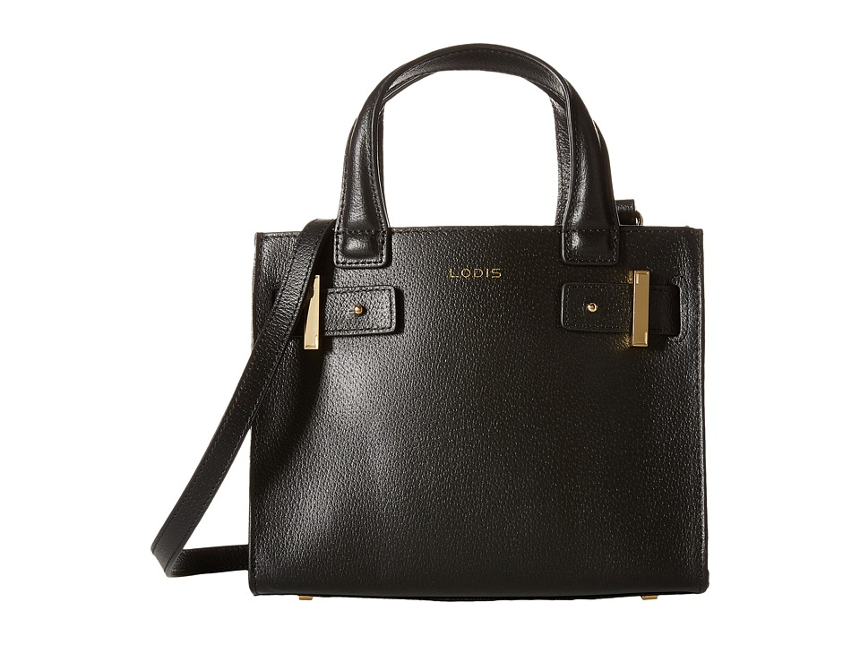 Lodis Accessories - Stephanie Under Lock Key Uma Mini Tote (Black) Tote Handbags