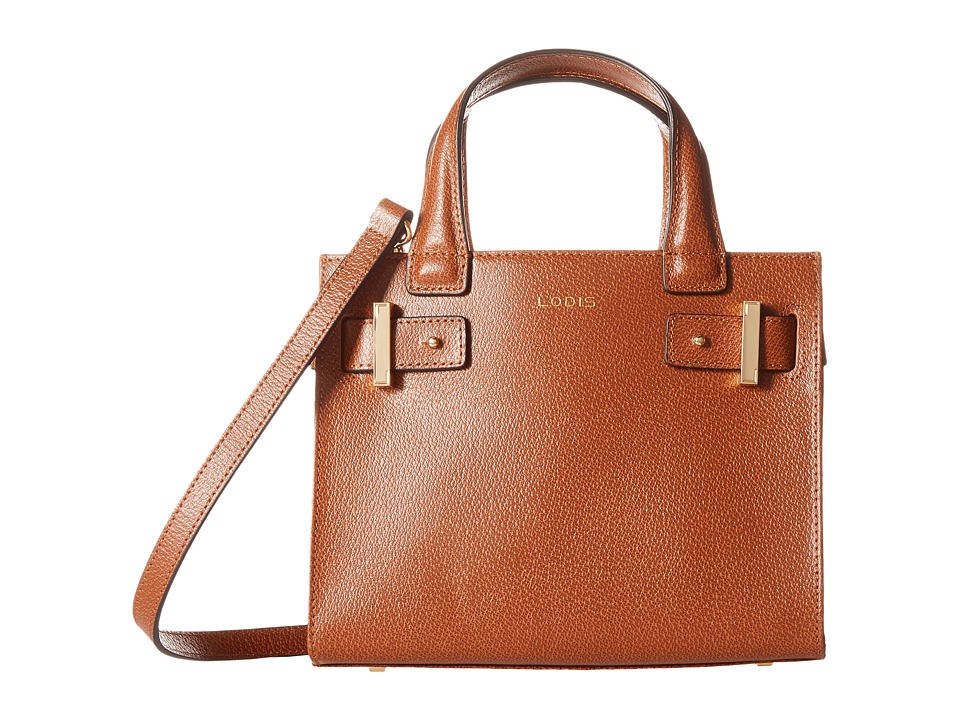 Lodis Accessories - Stephanie Under Lock Key Uma Mini Tote (Chestnut) Tote Handbags
