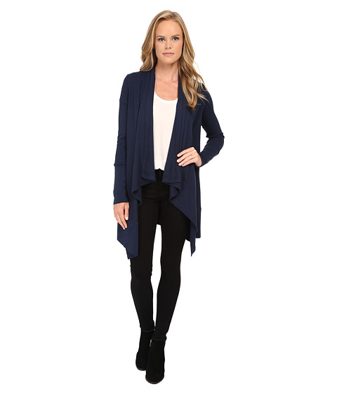 Splendid - Thermal Cardi (Navy) Women's Sweater