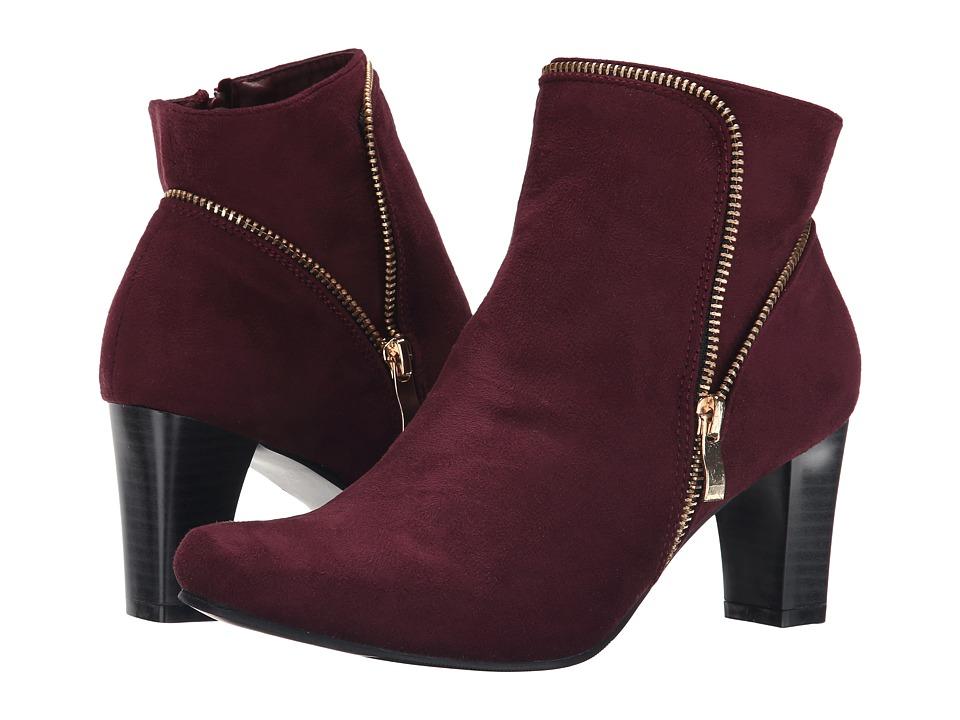 PATRIZIA - Arundel (Bordeaux) Women's Zip Boots