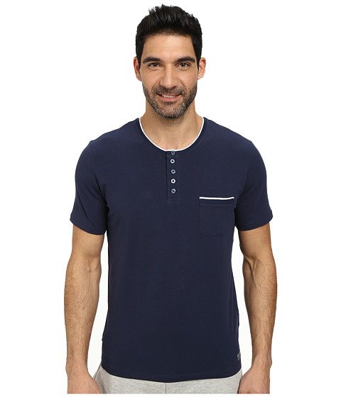 BOSS Hugo Boss - Emotion Night Tee (Open Blue) Men's Pajama