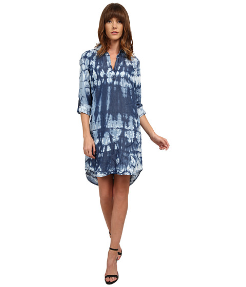 Splendid - New Indigo Treatment Dress (Indigo Tie-Dye) Women's Dress