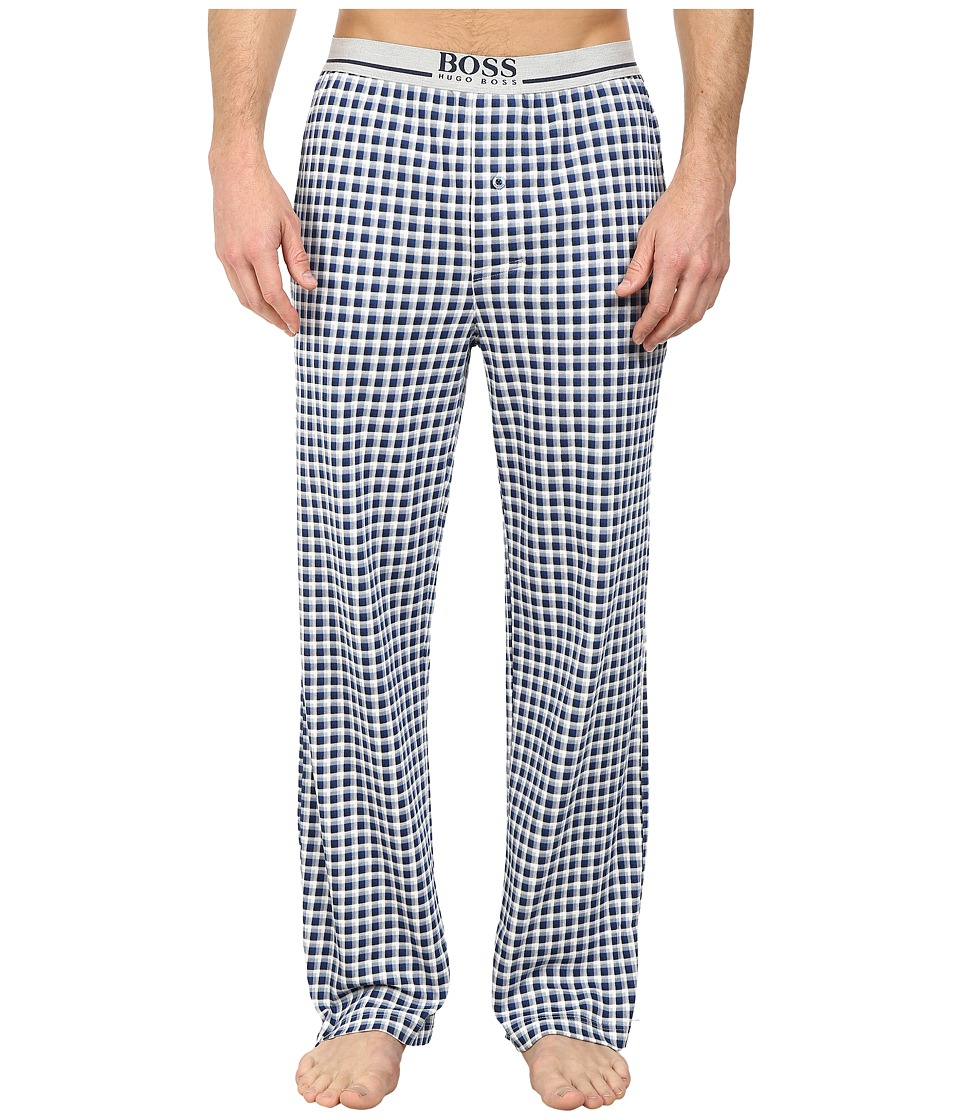 BOSS Hugo Boss - Long Pant EW Jersey (Dark Blue) Men's Pajama